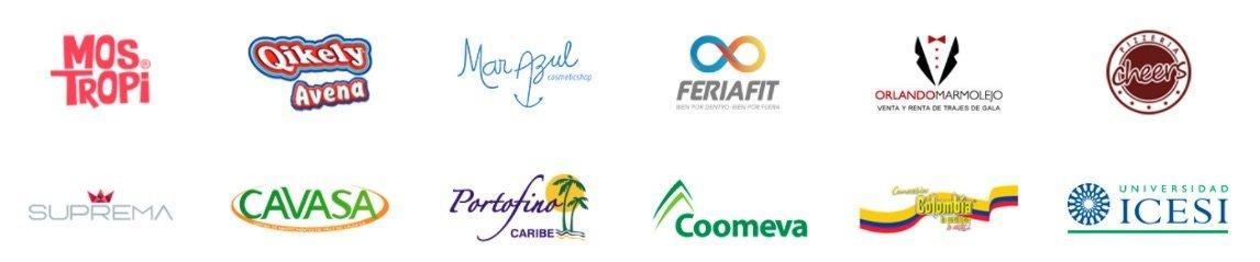 logos clientes diseño de páginas web