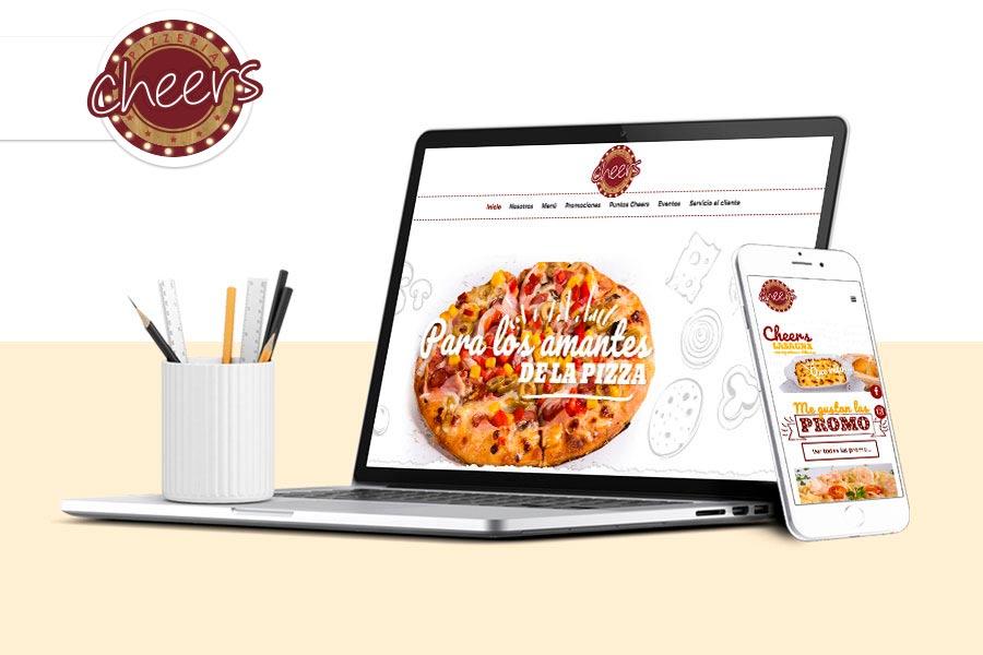 diseño web cheers