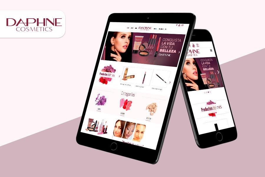 diseno tienda online daphne