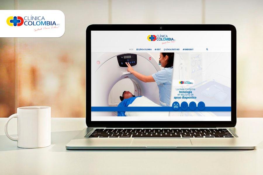 página web clinica colombia